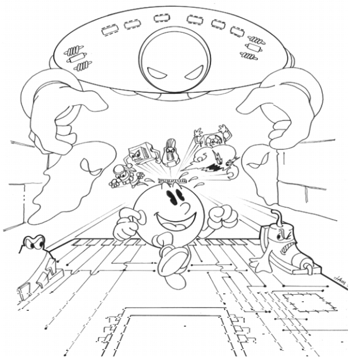 Pac-Man Ghost Zone Image1